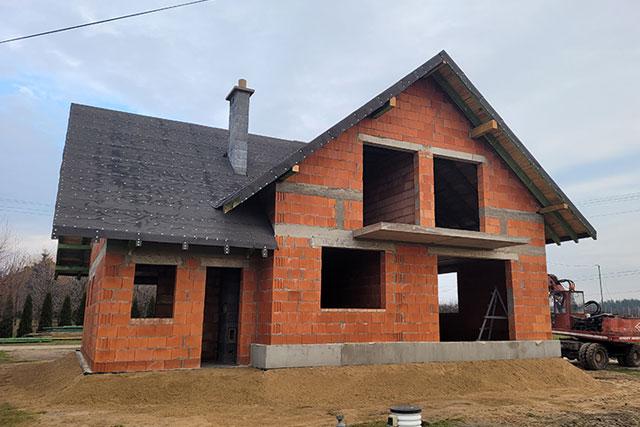 budowa domów grójec stan surowy